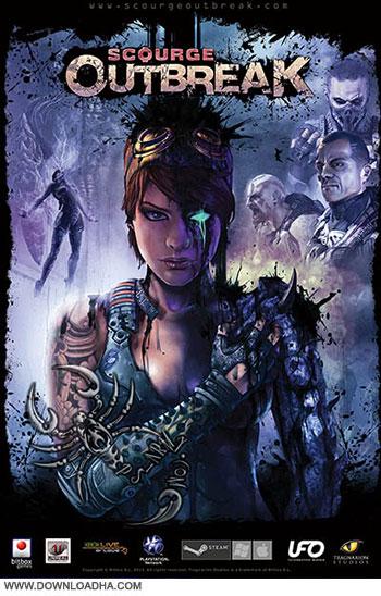 Scourge Outbreak pc cover دانلود بازی Scourge Outbreak برای PC