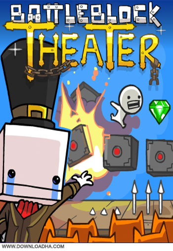 BattleBlock Theater pc cover دانلود بازی BattleBlock Theater برای PC