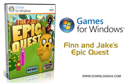 Finn and Jakes Epic Quest pc cover دانلود بازی Adventure Time: Finn and Jakes Epic Quest برای PC