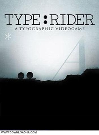 Type Rider v1.0 pc cover دانلود بازی Type:Rider برای PC