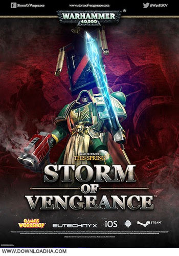 Warhammer 4000 Storm of Vengeance pc cover دانلود بازی Warhammer 40000 Storm of Vengeance برای PC