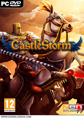 CastleStorm Complete Edition pc cover دانلود بازی CastleStorm Complete Edition برای PC
