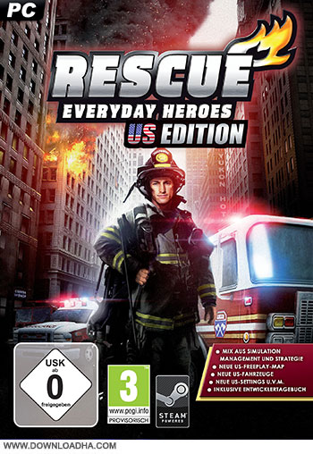 Rescue   Everyday Heroes U.S Edition pc cover small دانلود بازی RESCUE EVERYDAY HEROES US EDITION برای PC