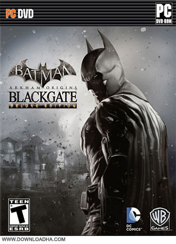 Batman Arkham Origins Blackgate Deluxe Edition pc cover دانلود بازی Batman Arkham Origins Blackgate Deluxe Edition برای PC