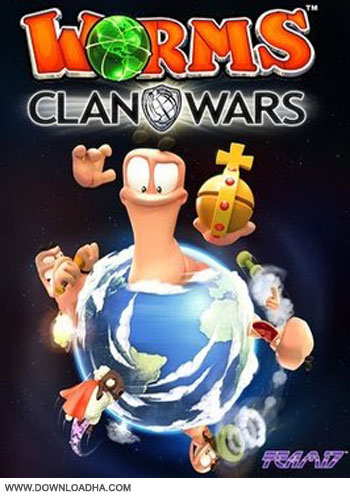 Worms Clan Wars pc cover دانلود بازی Worms Clan Wars برای PC