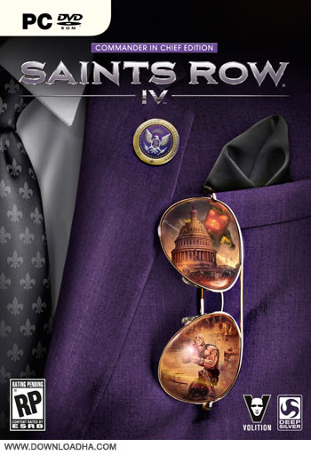Saints row IV pc cover small دانلود بازی Saints Row IV برای PC