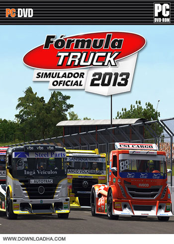 Formula Truck Simulator 2013 pc cover دانلود بازی Formula Truck Simulator 2013 برای PC