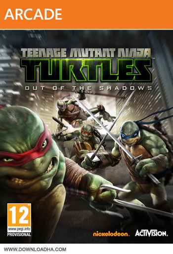 TMNT Out of Shadows pc cover small دانلود بازی Teenage Mutant Ninja Turtles Out of the Shadows برای PC