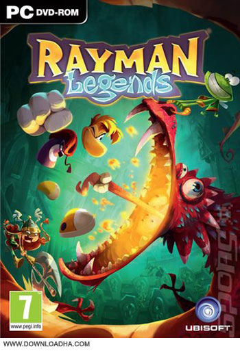 Rayman Legends pc cover دانلود بازی Rayman Legends برای PC