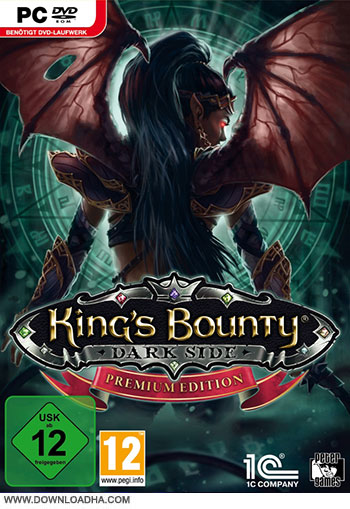 Kings Bounty Dark Side pc cover دانلود بازی Kings Bounty Dark Side برای PC