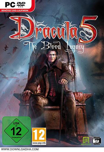 Dracula 5 The Blood Legacy pc cover small دانلود بازی Dracula 5: The Blood Legacy برای PC