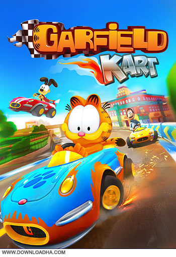 Garfield Kart pc cover small دانلود بازی Garfield Kart برای PC