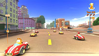 Garfield Kart screenshots 04 small دانلود بازی Garfield Kart برای PC