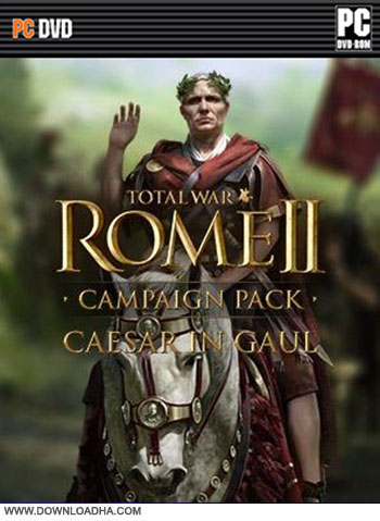 Total War Rome II Campaign Pack DLC cover دانلود بازی Total War ROME II: Caesar in Gaul برای PC