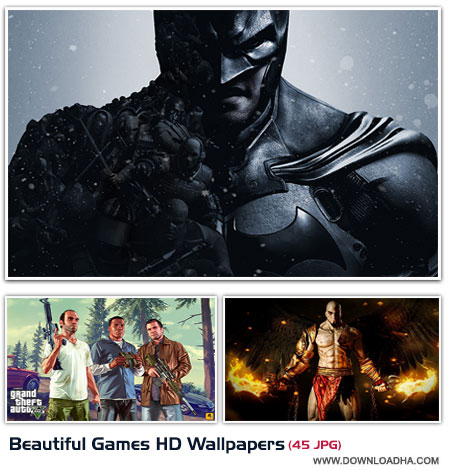 Beautiful Games HD Wallpapers cover مجموعه 45 والپیپر با موضوع بازی های کامپیوتری Beautiful Games HD Wallpapers