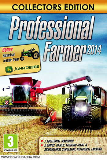 Professional Farmer 2014 pc cover دانلود بازی Professional 