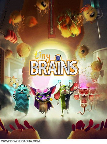 Tiny Brains pc cover دانلود بازی Tiny Brains برای PC