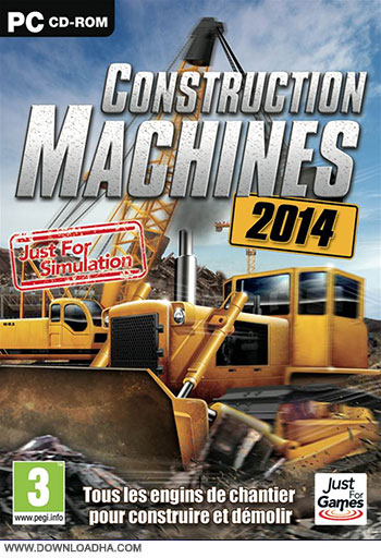 Construction Machines pc cover دانلود بازی Construction Machines 2014 برای PC