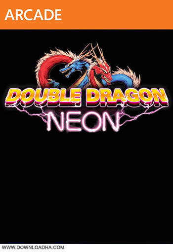 Double Dragon Neon pc cover دانلود بازی Double Dragon Neon برای PC