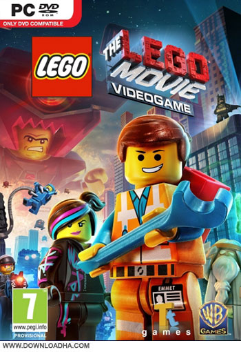 Lego Movie Videogame pc cover دانلود بازی The LEGO Movie Videogame برای PC