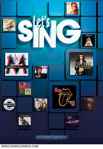 Lets Sing pc cover small دانلود بازی Lets Sing برای PC