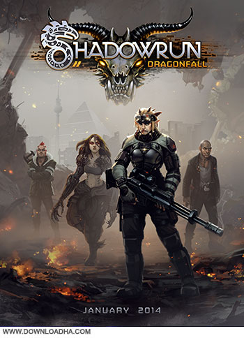 Shadowrun Dragonfall pc cover small دانلود بازی Shadowrun: Dragonfall برای PC