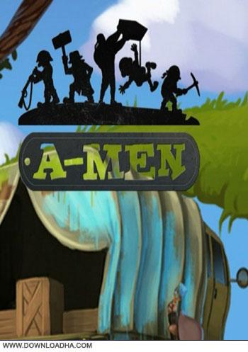 A Men pc cover دانلود بازی A Men برای PC