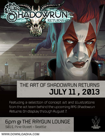 Shadowrun Returns pc cover دانلود بازی Shadowrun Returns 2013 برای PC