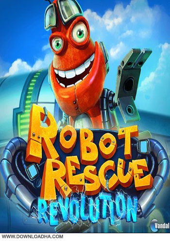 Robot Rescue Revolution pc cover دانلود بازی Robot Rescue Revolution برای PC