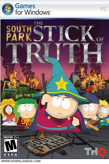 Southpark Stick of Truth pc cover دانلود بازی Southpark Stick of Truth برای PC