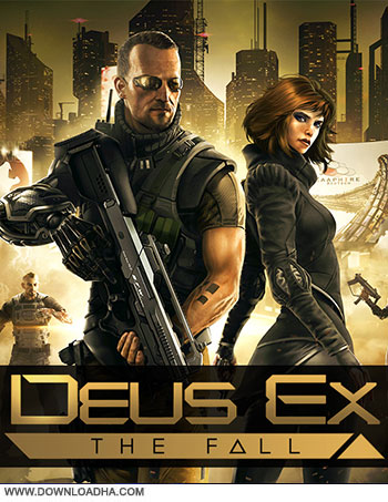 Deus Ex The Fall pc cover دانلود بازی Deus Ex The Fall برای PC