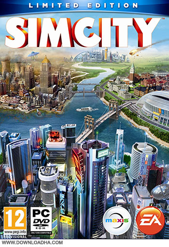 SimCity pc cover دانلود بازی SimCity برای PC