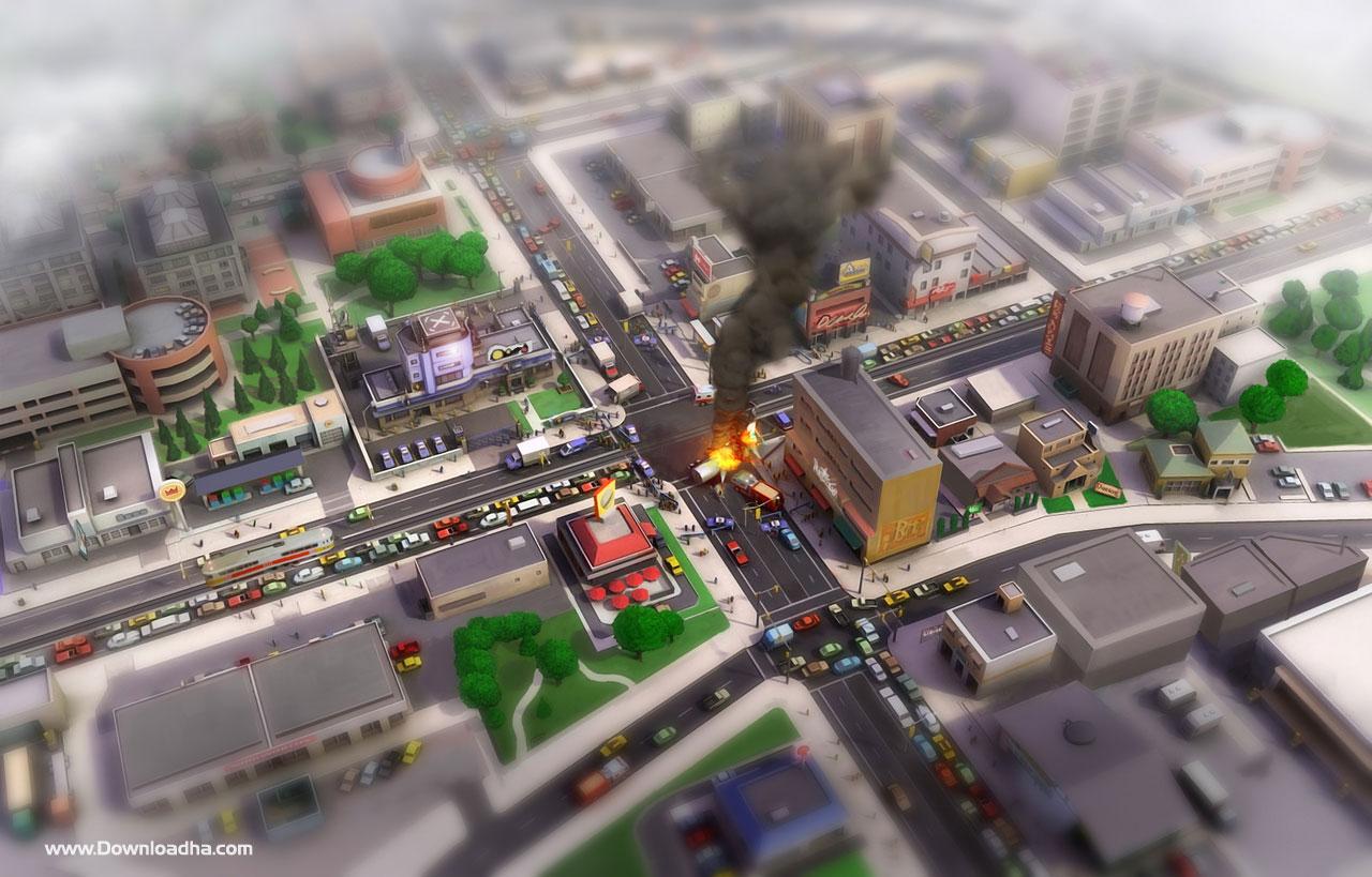 دانلود اپدیت بازی sim city