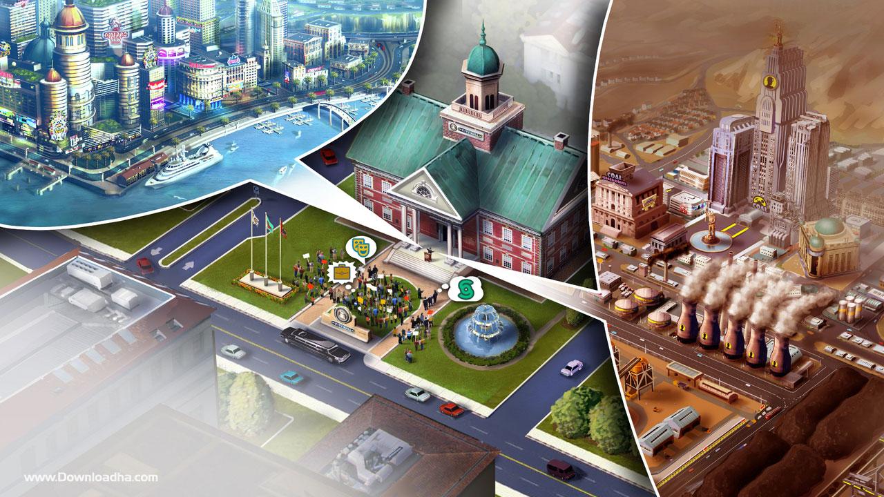 خرید بازی کامپیوتر sim city