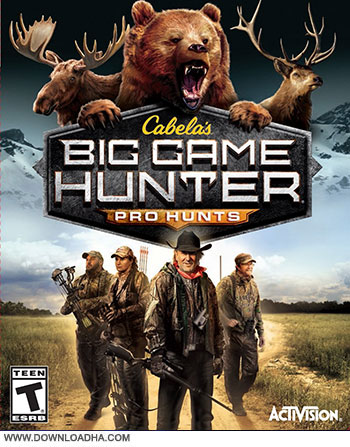 Cabelas Big Game Hunter Pro Hunts pc cover دانلود بازی Cabelas Big Game Hunter Pro Hunts برای PC