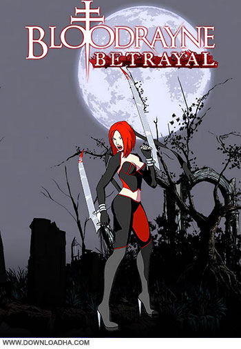 Bloodrayne Betrayal pc cover دانلود بازی BloodRayne Betrayal برای PC