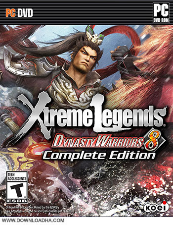 Dynasty Warriors Xtreme Legends pc cover دانلود بازی Dynasty Warriors 8 Xtreme Legends برای PC
