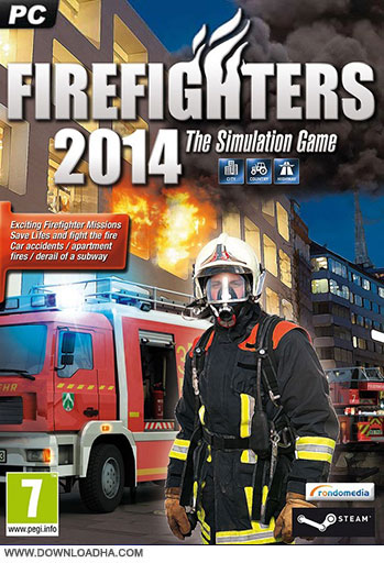 Firefighters 2014 pc cover دانلود بازی Firefighters 2014 برای PC