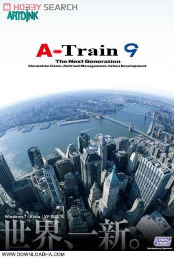 A Train 9 pc cover دانلود بازی A Train 9 برای PC