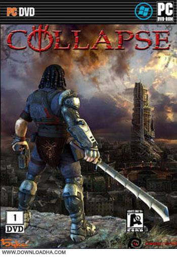 Collapse pc cover دانلود بازی Collapse برای Pc