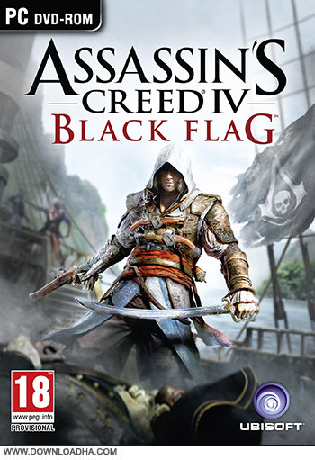 Assassins Creed IV pc cover small دانلود بازی Assassins Creed IV: Black Flag برای PC