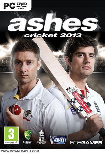 Ashes Cricket 2013 pc cover small دانلود بازی Ashes Cricket 2013 برای PC