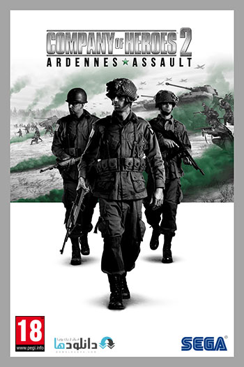 Company of Heroes 2 Ardennes Assault pc cover دانلود بازی Company of Heroes 2 Ardennes Assault برای PC