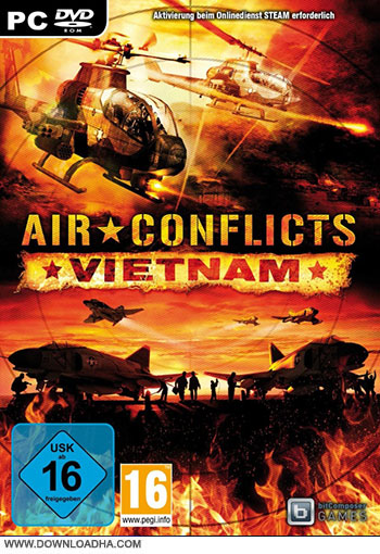 Air Conflicts Vietnam pc cover دانلود بازی Air Conflicts: Vietnam برای PC
