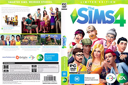 The Sims 4 pc print small دانلود بازی The Sims 4 برای PC