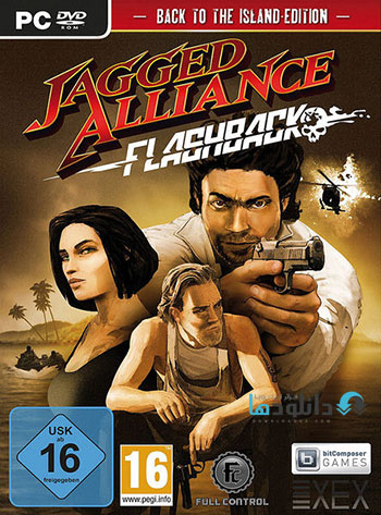 Jagged Alliance Flashback pc cover دانلود بازی Jagged Alliance Flashback برای PC