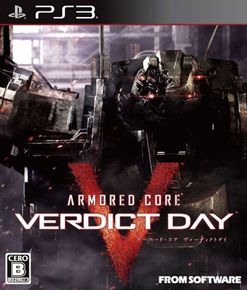 Armored Core Verdict Day ps3 cover دانلود بازی Armored Core Verdict Day برای PS3