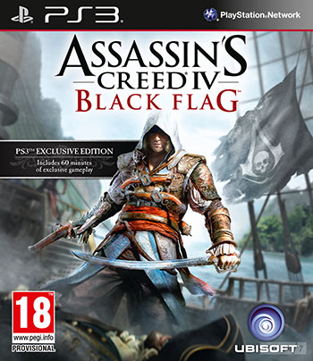 Assassins Creed IV ps3 cover small دانلود بازی Assassins Creed IV: Black Flag برای PS3