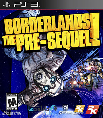 Borderlands The Pre Sequel ps3 cover small دانلود بازی Borderlands The Pre Sequel برای PS3