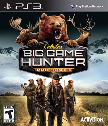 Cabelas Big Game Hunter Pro Hunts ps3 cover small دانلود بازی Cabelas Big Game Hunter Pro Hunts برای PS3